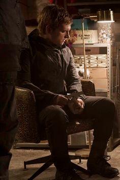 PanemPropaganda - joshhutchsource: Josh Hutcherson as Peeta - Mockingjay part 2 still
