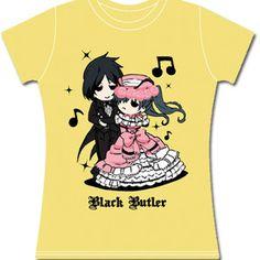 Sebastian & Ciel Dancing T-Shirt