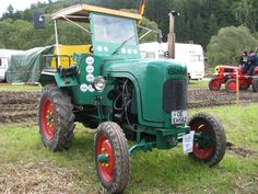 Bischoff AS20 01m Antique Tractors, Old Tractors, Lanz Bulldog, Agriculture Farming, Steyr, Down On The Farm, Lawn Care, Techno, Green