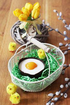 Fashion Kitchen by Ann-Christin | Fashion, Food & Lifestyle | Germany: Süße Schokoladen Eier mit Sekt im Osternest
