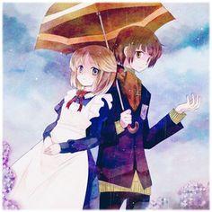Anime Couples - Rain
