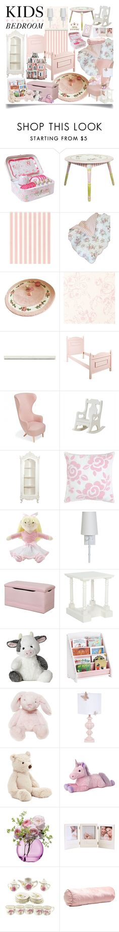 """""""Kids Bedroom"""" by ittie-kittie ❤ liked on Polyvore featuring interior, interiors, interior design, home, home decor, interior decorating, Teamson, Tom Dixon, Dena Home and Laura Ashley"""