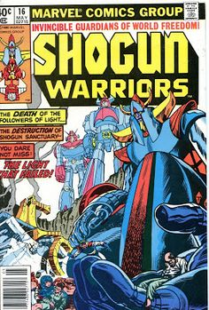 Comics, old time radio and other cool stuff: Shogun Warriors, Part 7
