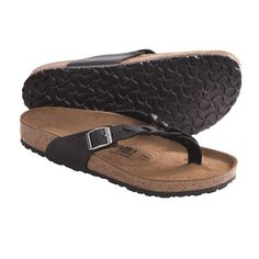 Tatami by Birkenstock Adria Flecht Sandals - Leather (For Women) in Black