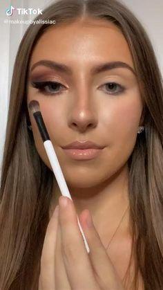 Eye Makeup Steps, Makeup Eye Looks, Eye Makeup Art, Contour Makeup, Eyeshadow Makeup, Indian Eye Makeup, Makeup Set, Dope Makeup, Casual Makeup