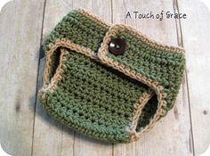 Ravelry: Baby Bum Diaper Cover pattern by Crochet by Jennifer