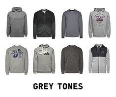 Grey happens to be your favourite colour? Well, we've got a lot of grey sweatshirts for you! #men #jackandjonesme #fashion