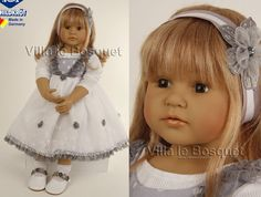 SCHILDKRÖT POUPEE JOHANNA - poupée d'artiste de Brigitte Paetsch