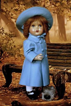 La habitación de Ana - Mi Mariquita-Tomasa Old Dolls, Antique Dolls, Vintage Dolls, Baby Cats, Cowboy Hats, Doll Clothes, Hipster, Antiques, Toys