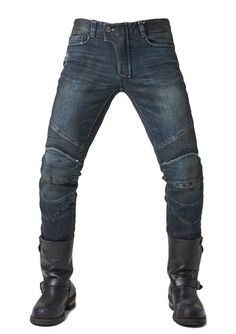 e4b6033a3f71 Stain   distressed finish • 12oz Heavyweight Denim• Slight stretch for  additional comfort•