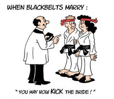 Tae Kwon Do Humor  Visit www.budospace.com... for discount Tae Kwon Do supplies!