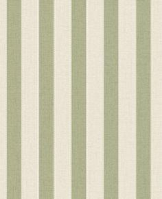 Rayure Toile Papier Peint Vert