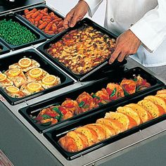 Sixth Size Multi-Use Hot Food Pan 1-11/16 Quart 1 Each Restaurant Supply Store, Online Restaurant, Small Dining Area, Commercial Kitchen Equipment, Food Service Equipment, Griddle Pan, Oven, Kitchen Appliances, Foods