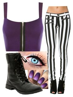 """""""Purple kisses"""" by hazelnut2002 ❤ liked on Polyvore featuring WearAll"""