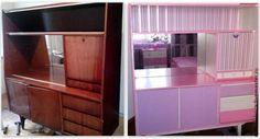 Не выбрасывайте старую мебель! (идеи переделок) » Женский Мир Interior, Painted Furniture, Home, Remodel, Furniture Hacks, Decor Styles, Loft Bed, Furniture Makeover, Interior Inspo