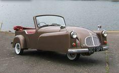 1954 BOND Micro Car Convertible