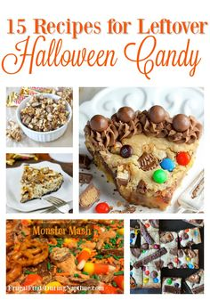 Recipe Round Up:: 15 Recipes for Leftover Halloween Candy