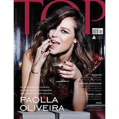 Revista TOP Magazine / Edição 189 / Setembro de 2014 #paolla #oliveira #actress #tv #novela #artista #atriz
