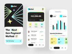 Finance Banking App Design Ui Ux Design, Design Agency, User Experience Design, Apps, Ui Inspiration, Mobile Design, App Development, User Interface, Blockchain