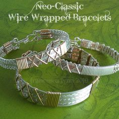 JEWELRY TUTORIAL  NeoClassic Wire Wrapped by FrancescaLynn on Etsy, $12.00