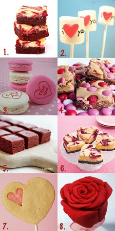 8 Ideas for what to bake this Valentine's Day :)