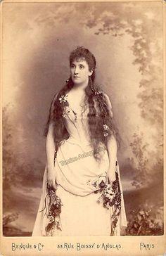 Melba, Nellie - Cabinet Photo