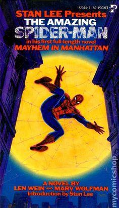 The first Pocket Books Marvel Comics novel, 1978.