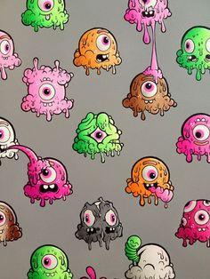 Buff Monster: Art of Super Happy Pink