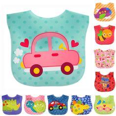 아기 앞치마 방수 만화 어린이 앞치마 유아 트림 옷 새로운 의류 수건 아이 의류 액세서리 높은 품질