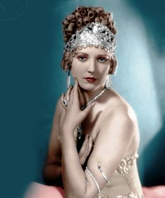 """The former mistress of Lucky Luciano, Thelma Todd. Found slumped over her steering wheel, died of """"natural cause""""."""