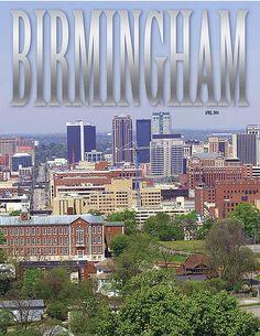 Photo of downtown Birmingham Alabama