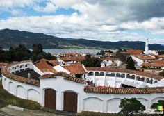 Guatavita is a popular destinations for a day trip from Bogota, Colombia and it's close to Lake Guatavita, famous for the Legend of El Dorado. Largest Countries, Countries Of The World, Ecuador, Colombian People, Columbia South America, Colombia Travel, Country Landscaping, Day Tours, Day Trip