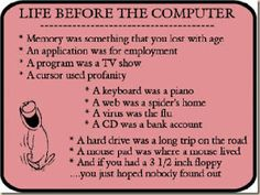 Before Computers