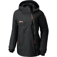 Columbia - Catacomb Crest On Snow Anorak Hooded Jacket - Women's - Black