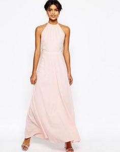 Asos Open Back Maxi Dress Halter Neck Maxi Dress bb62773ec