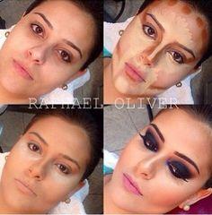 Maquiagem transformadora