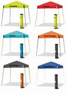 EZ Up Vista Regency Canopy Tents