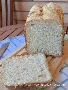 Pan sin gluten schar y trigo sarraceno Bread Machine Recipes, Bread Recipes, Baking Recipes, Vegan Gluten Free, Gluten Free Recipes, Healthy Recipes, Mexican Bread, Salty Foods, Pan Bread