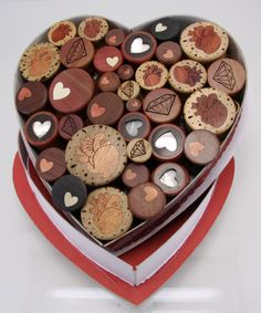 Cute idea for caleb i could make him a box of plugs instead of chocolate for next vday! Tunnels And Plugs, Ear Plugs, Body Modifications, Body Mods, Body Jewelry, Chocolate, Piercings, Valentines, Heart