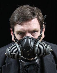 """Steampunk Gas Mask Respirator """"Transmutator"""" by Tom Banwell Designs, $195.00 USD"""