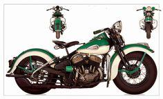 Harley-Davidson: Harley Davidson 1941 WLD Sport Solo