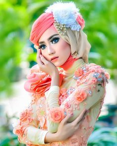 Foto Rias Pengantin Muslim Berjilbab Wedding Dress Wedding Hijab