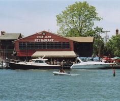 America's Best Waterfront Seafood Shacks: The Crab Claw-St Michaels, MD