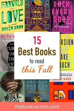 If you are wondering what books to read this fall, here is a selection of the best books that came out this year so far that will keep you company. Best Books To Read, New Books, Good Books, Reading Lists, Book Lists, What Book, Reading Challenge, Love Book, So Little Time
