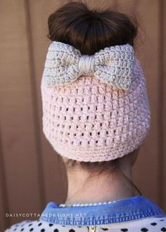 Messy Bun Free Crochet Pattern 7e0815182476