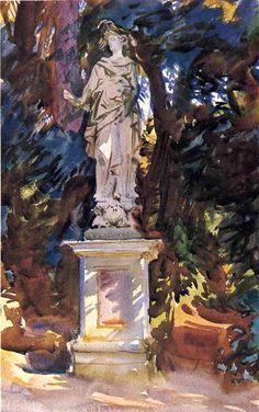 Boboli | John Singer Sargent | oil painting