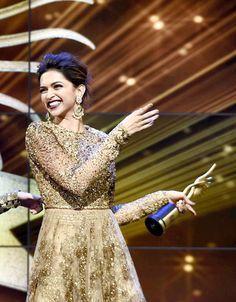 Deepika Padukone at the IIFA Awards 2014