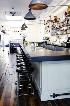 No.246 | Smith Hanes. restaurant interior detail, bar