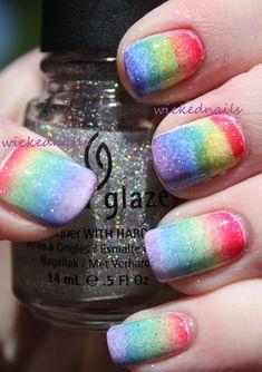 Pride Rainbow Gradient