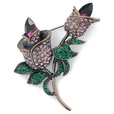 Amethyst Tulip Vintage Style Flower Pin Brooch Fantasyard. $12.59. Gift box available for an additional fee. Please check out through gift-wrap option. Exquisitely detailed designer style. Other color available